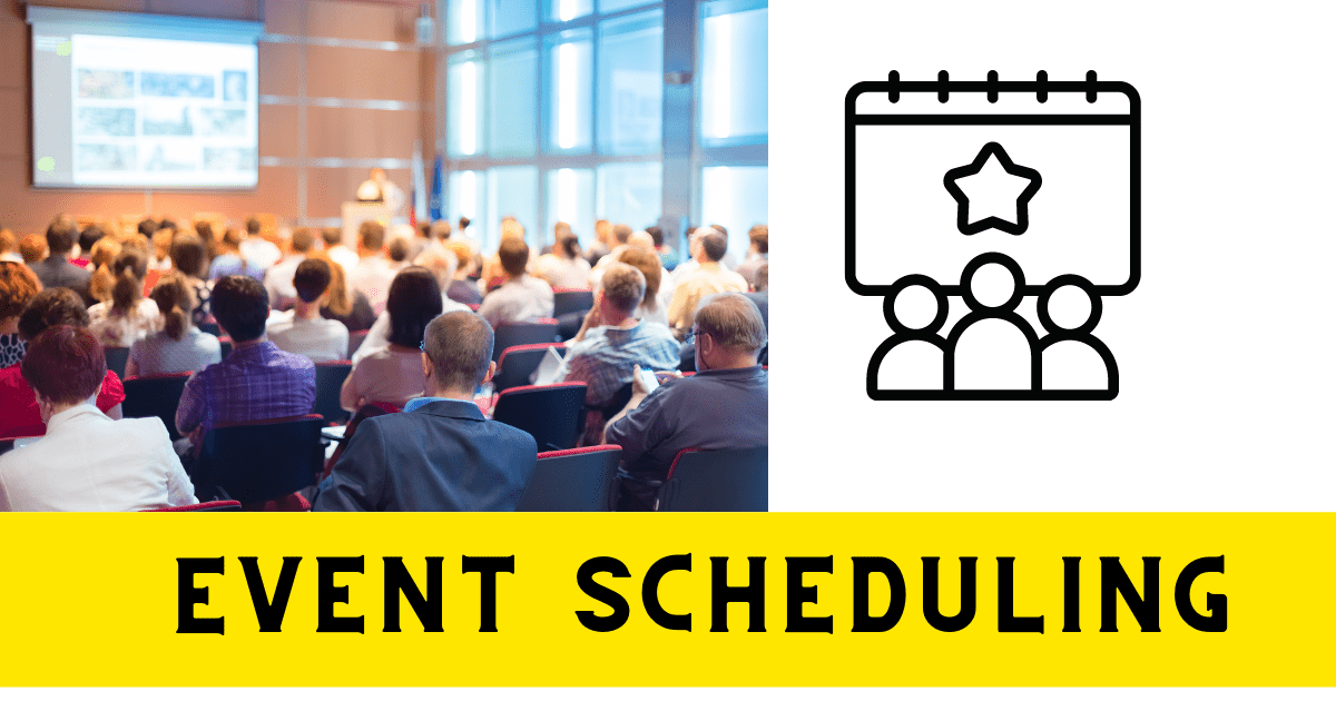 network marketing tools- Event scheduling