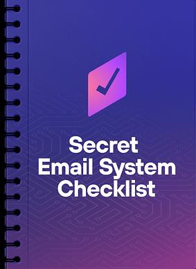 Secret-Email-System-Checklist
