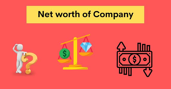 net worth of company